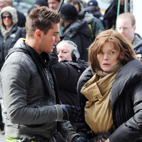 Zac Efron And Michelle Pfeiffer Collide