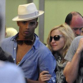 Madonna Steps Out With Boyfriend Brahim Zaibat