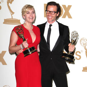 Kate Winslet And Guy Pearce Crack Up