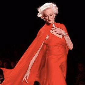 FASHION WEEK: Runway's Oldest Model, Carmen Dell'Orefice, 81, Rocks Fashion Week