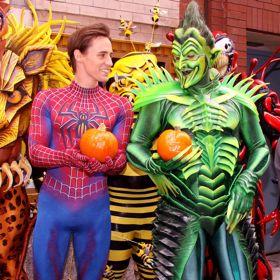 Reeve Carney Talks Halloween Safety