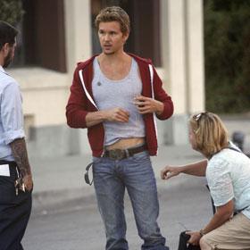 Ryan Kwanten Shoots 'True Blood' in L.A.