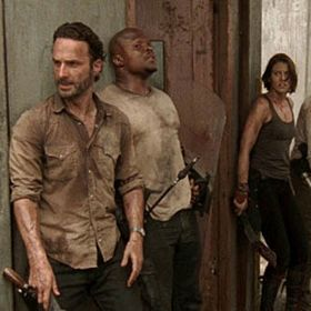 'The Walking Dead' Returns With Food For Thought