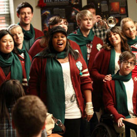 Sue Sylvester Gets Sappy On 'Glee' Christmas Special