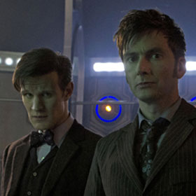 'Doctor Who' 50th Anniversary Review: A Fun Episode Exposes What Happens When Matt Smith And David Tennant Collide