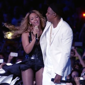 Beyonce And Jay-Z Are 'On The Run'