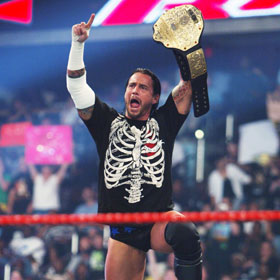 WWE's CM Punk Stays On Top